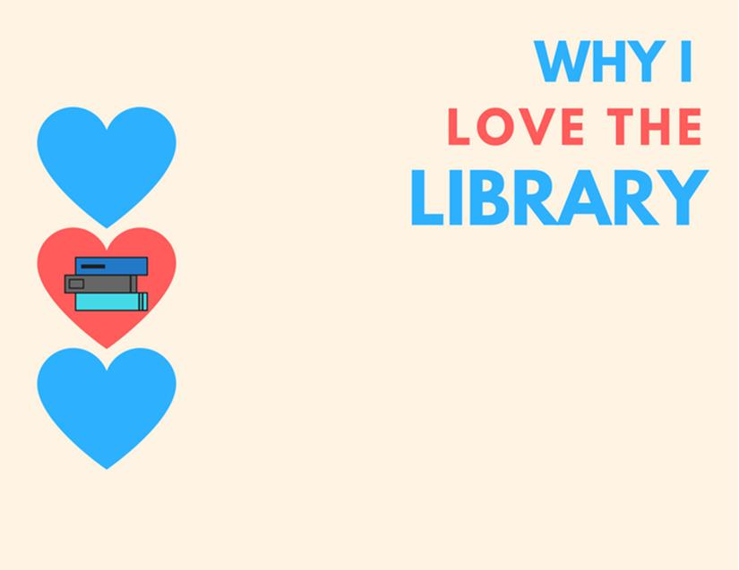 Why you love the library postcard 2018