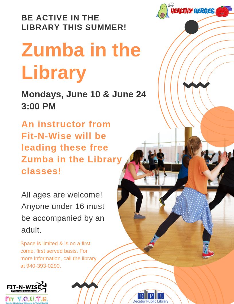 Zumba in the Library