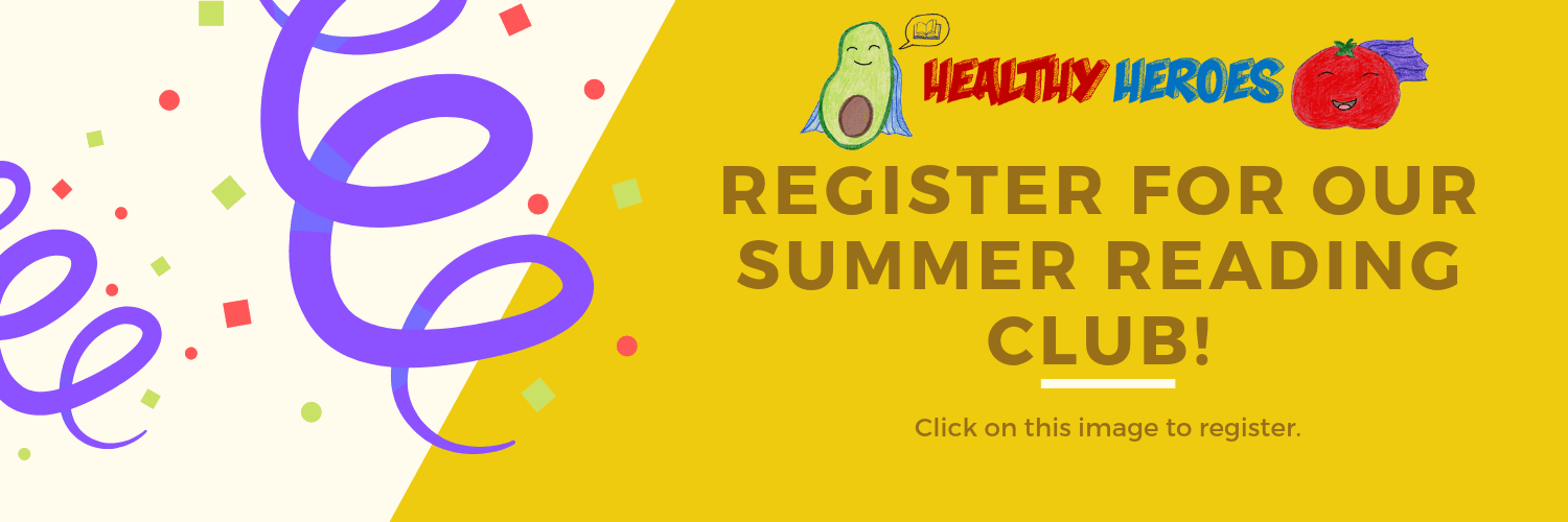 Register for our Summer Reading Club Here