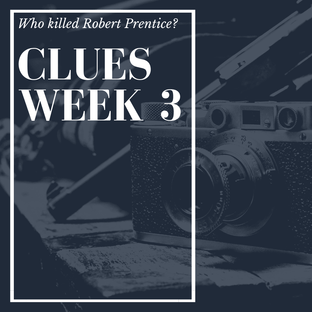 Murder Mystery Clues Week 3