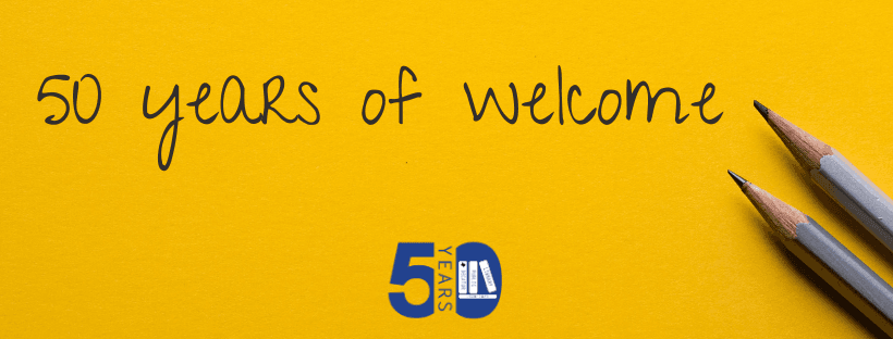 50 years of Welcome
