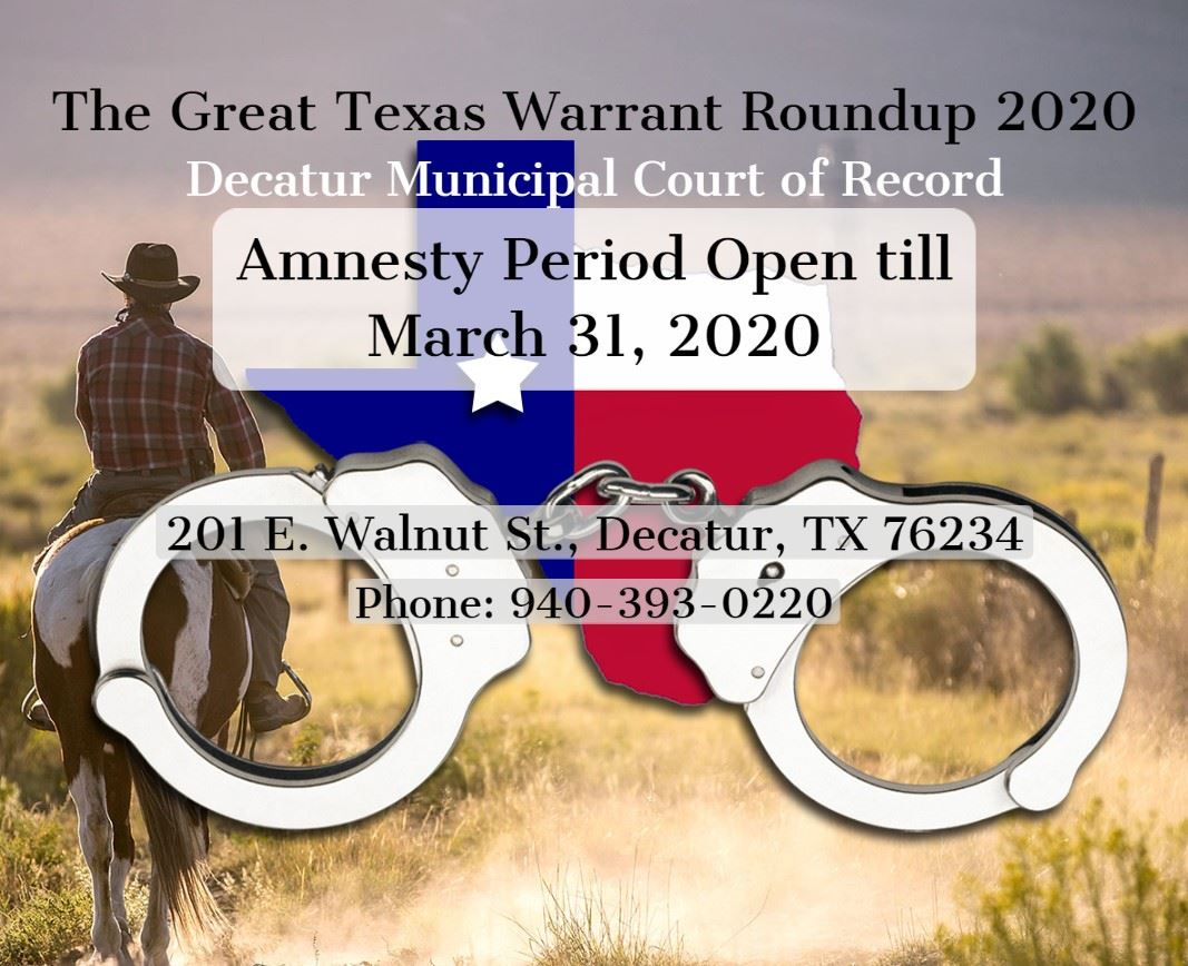 Info-graphic for Warrant Roundup 2020